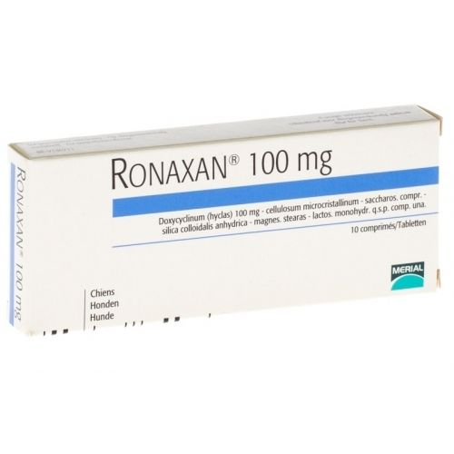 RONAXAN 100mg 10pils For Medium DOGS Infections