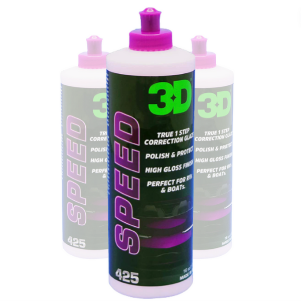 3D Speed All-In-One Swirl Removing Polish