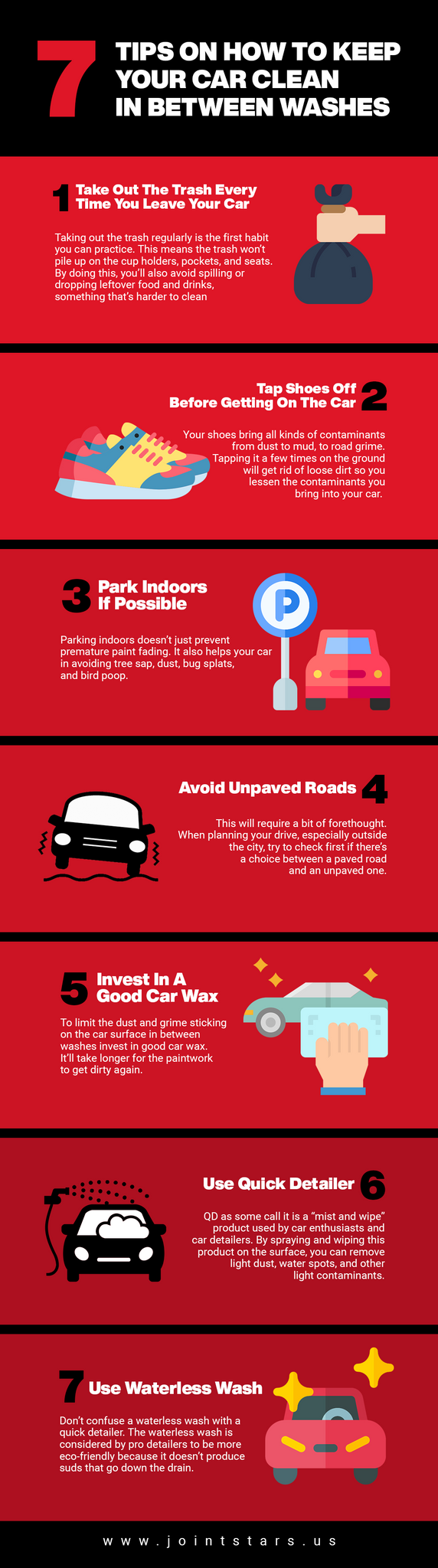 7 Tips Keep Your Car Clean In Between Washes infographics