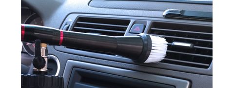 car air vents cleaning