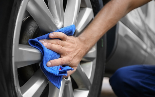 drying tires and wheels