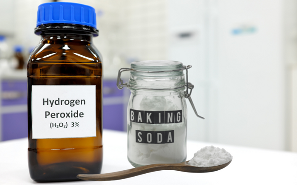 hydrogen peroxide and baking soda to remove carpet rust