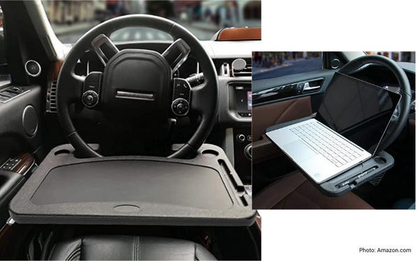 practical car product car steering wheel tray
