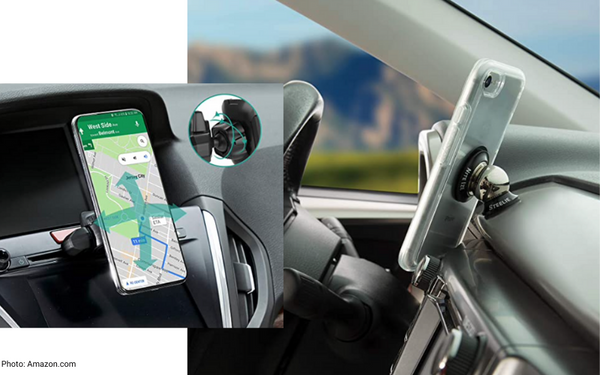 practical car product magnetic phone mount