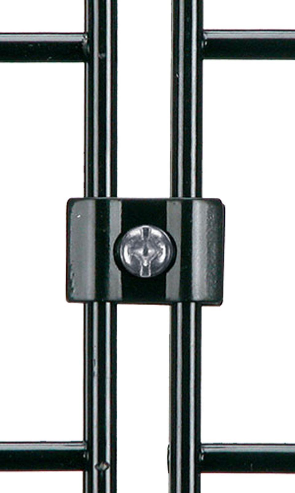 OUTLET GROENLO dubbele montageclip 5 mm groen- RVS schroef
