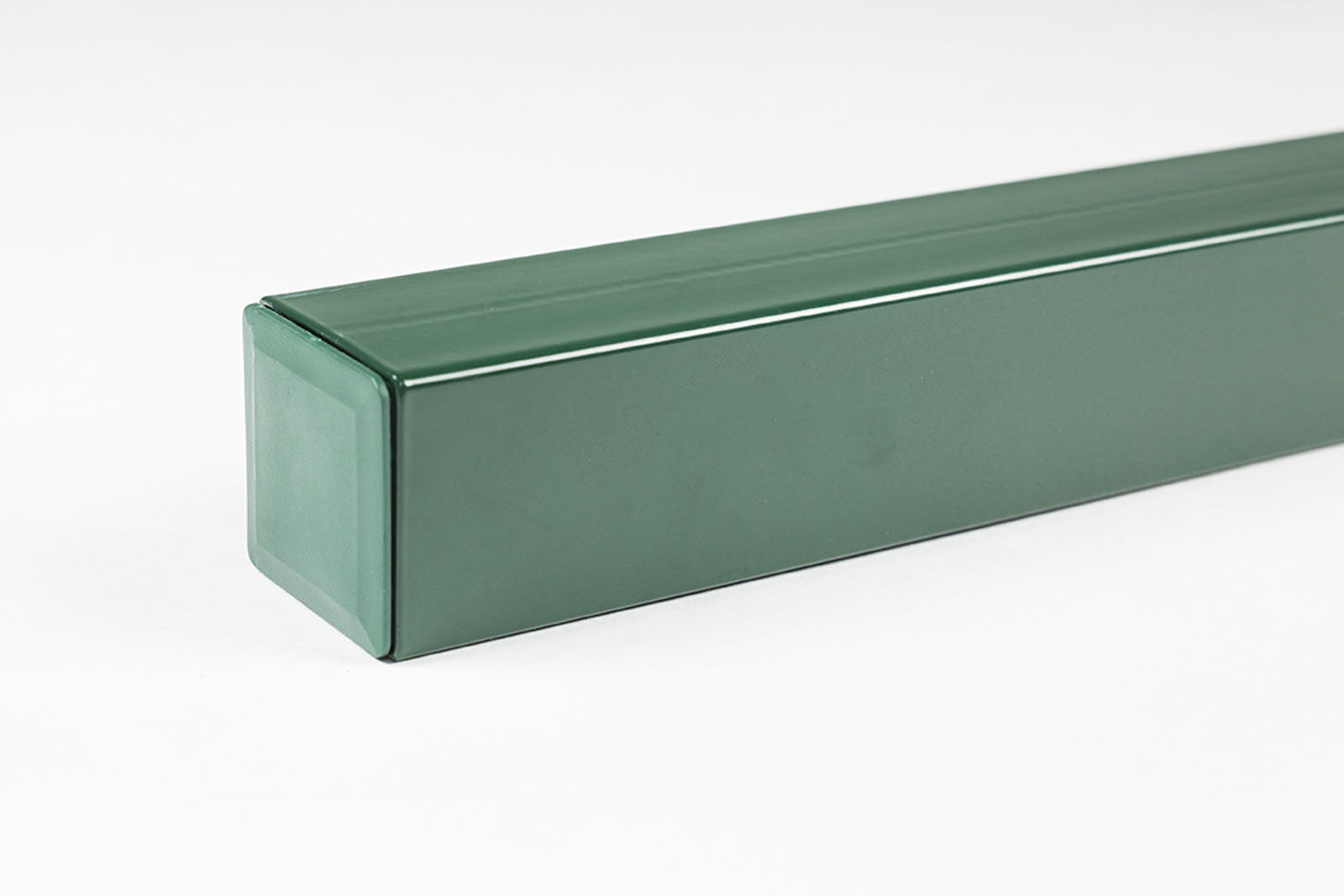 OUTLET GROENLO luxafence paal 6 x 6 x 180 cm groen gecoat