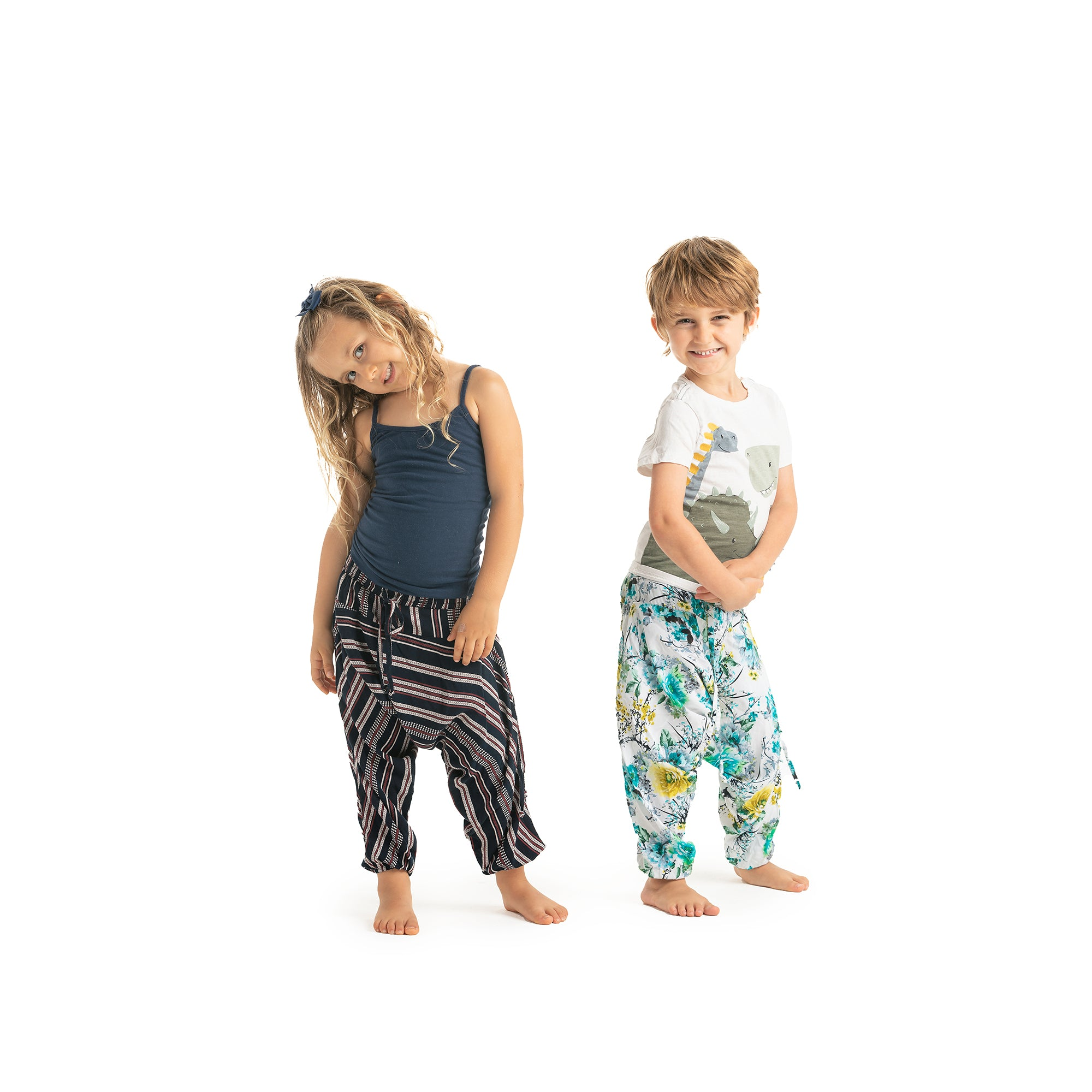 Matching Adult + Mini Buddha Harem Pants
