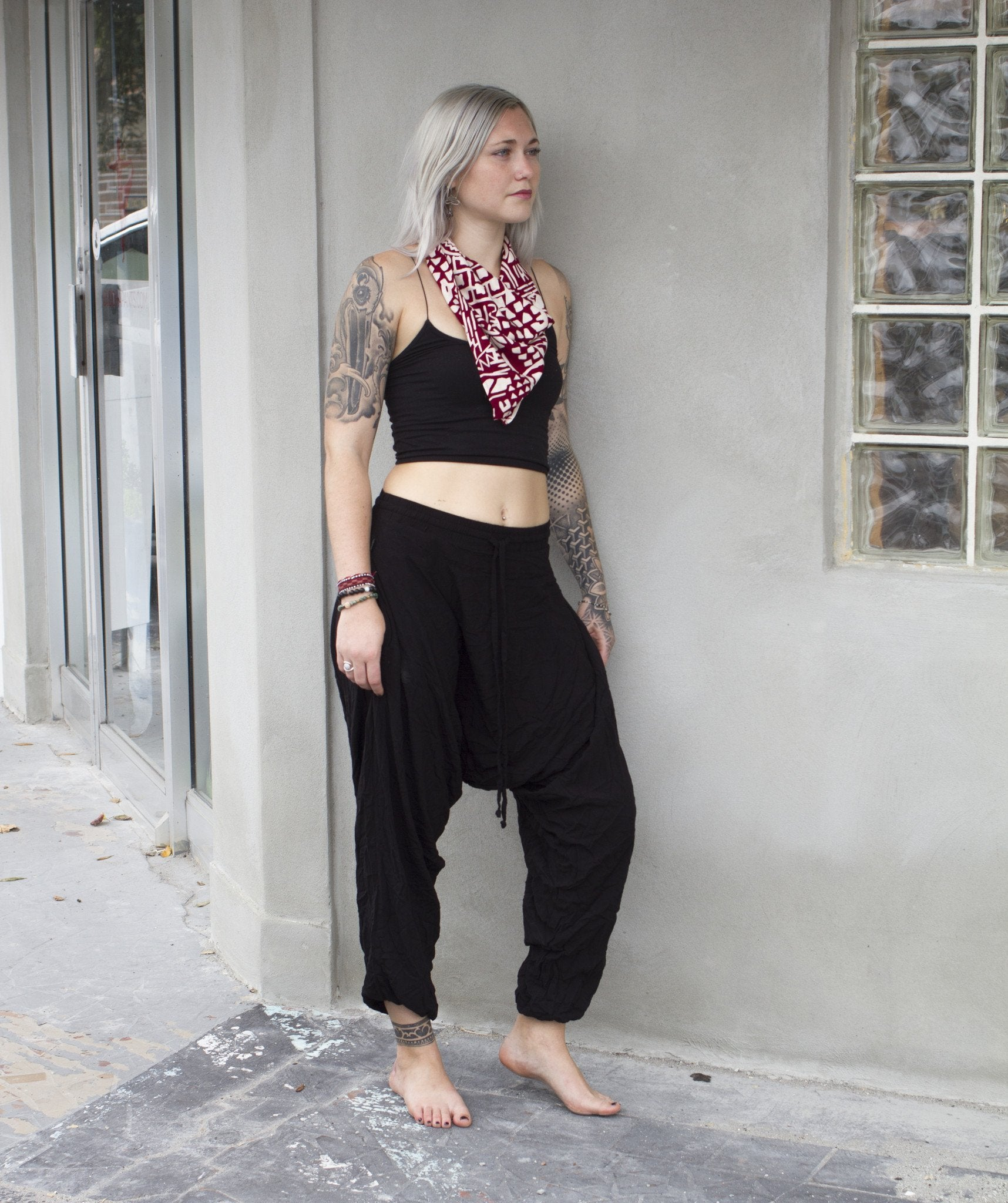 Black Bandana (3 PACK) by Buddha Pants® - Buddha Pants®