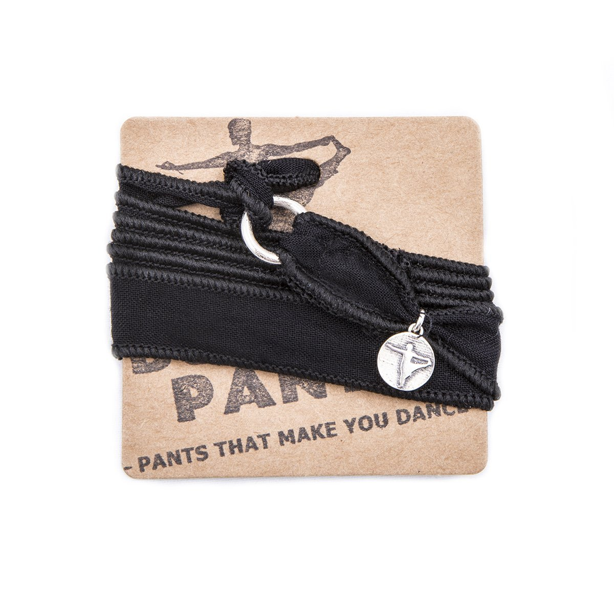 Black Wrap Bracelets (3 PACK) by Buddha Pants® - Buddha Pants®