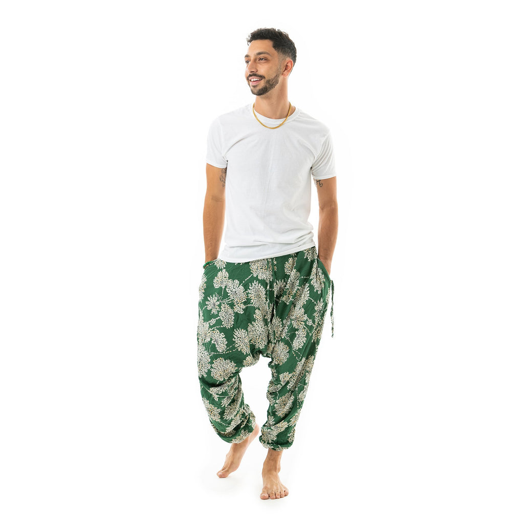 Flower Harem Pants by Buddha Pants® - Buddha Pants®