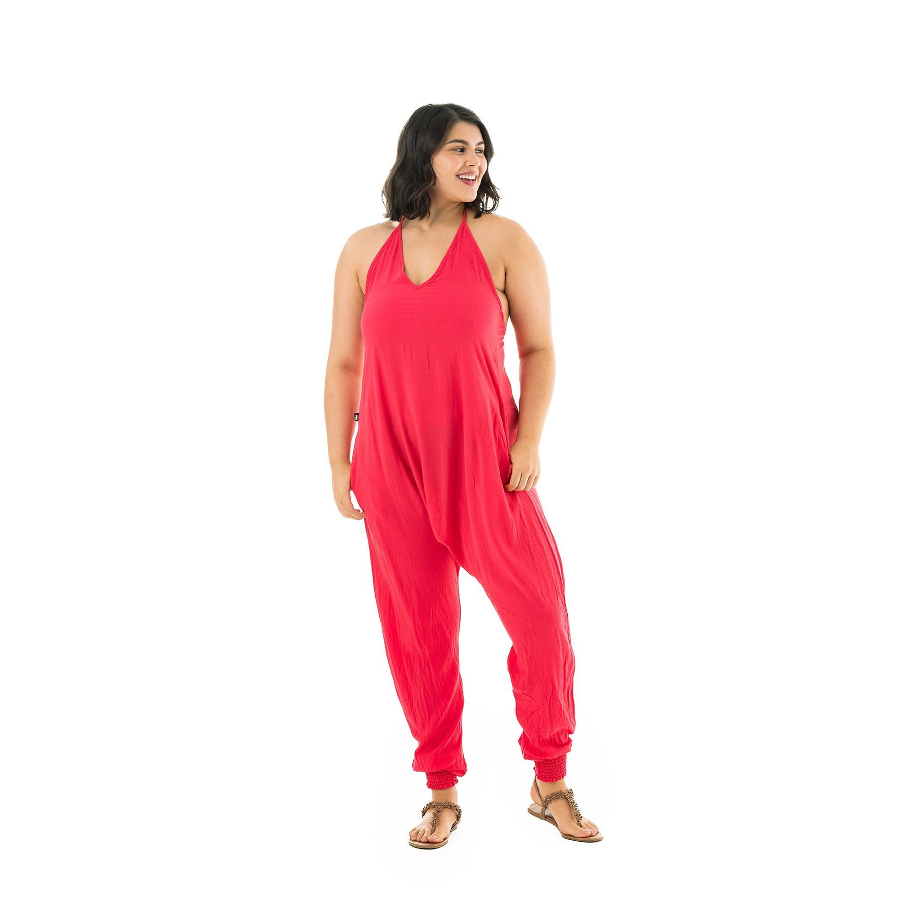 Yoga Jumpsuit Hippie Gifts for Mom from Daughter Free Size Harem Jumpsuit Women Fits sizes XS-XL Mothers Day Gift for Yoga Lover