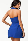 Royal Blue Mini Skater Dress - Everything 5 Pounds - 2