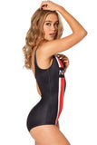 Womens Mass Effect N7 Teddy Swimsuit - Everything 5 Pounds - 2