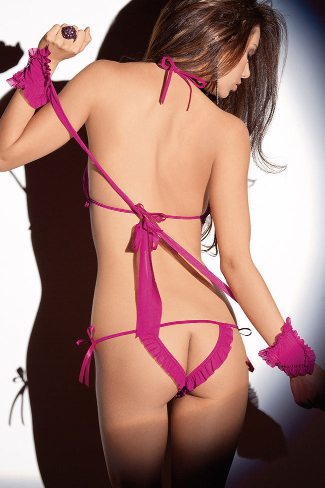 Valentine Seduction Lingerie Set - Everything 5 Pounds - 2