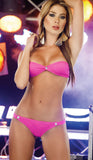 Summer Glau Fame Bikini Set Pink - Everything 5 Pounds
