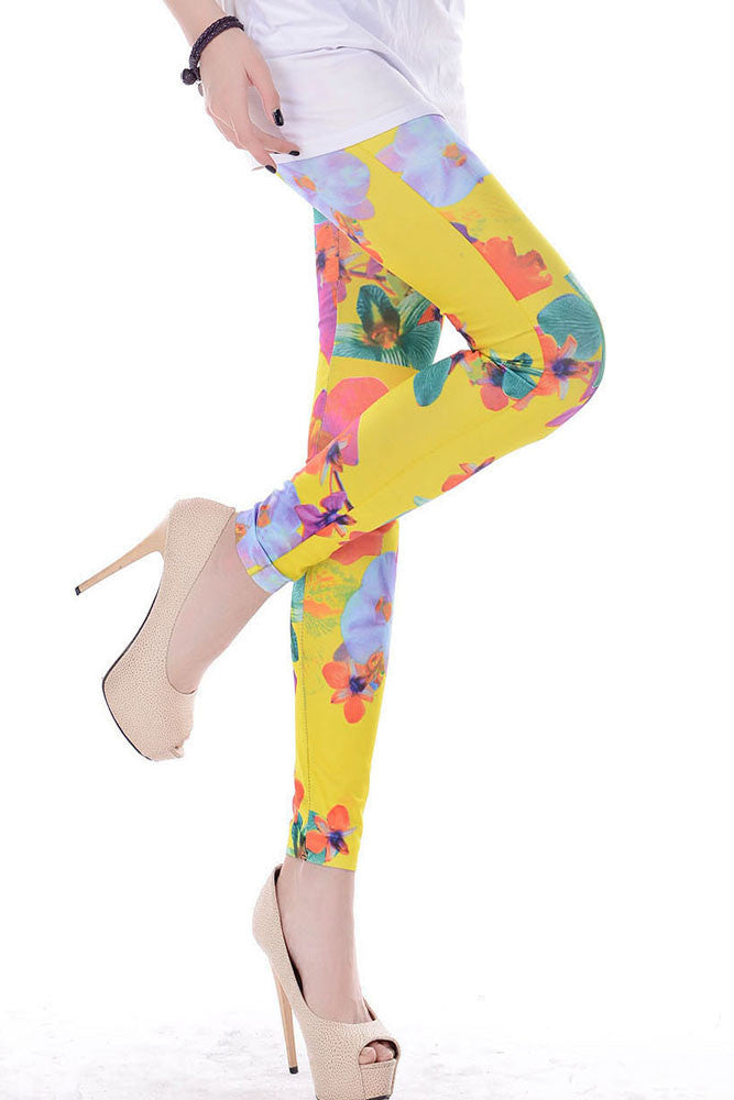 Mary Jane Floral Legging - Everything 5 Pounds - 2