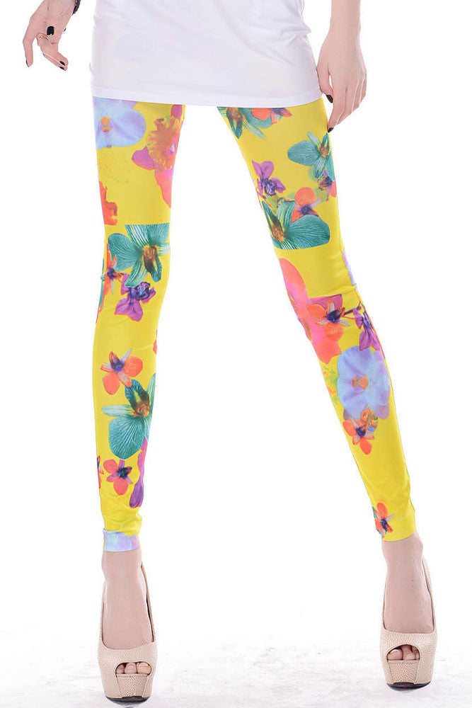 Mary Jane Floral Legging - Everything 5 Pounds - 1