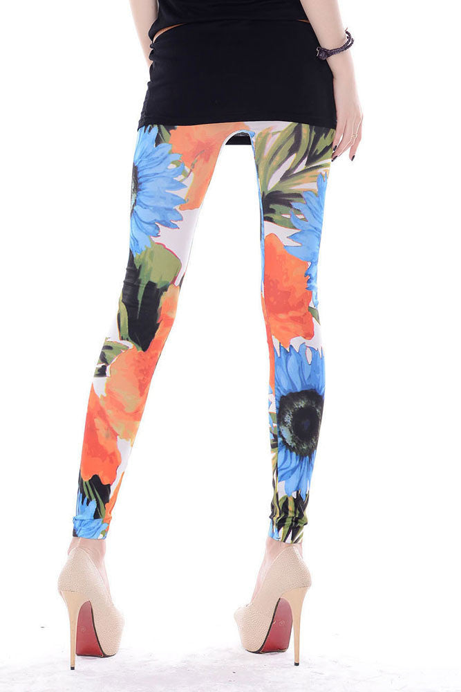 Andrea Warhol Floral Legging - Everything 5 Pounds