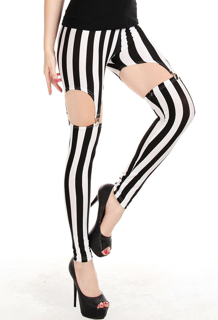 Tailored Vertical Stripe Legging - Everything 5 Pounds - 2