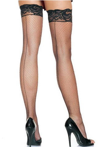 Back Seam Fishnet Stockings - Everything 5 Pounds