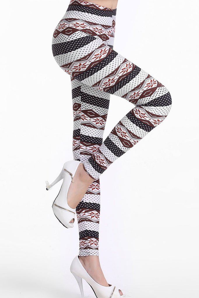Trendy Ethnic Stripes Sexy Leggings - Everything 5 Pounds - 2
