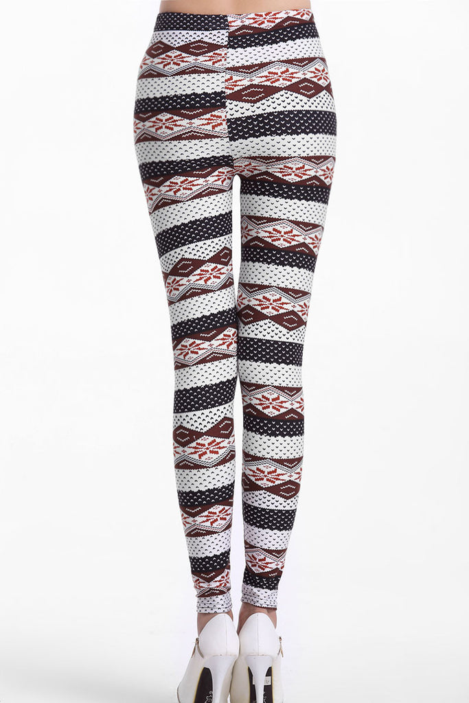 Trendy Ethnic Stripes Sexy Leggings - Everything 5 Pounds - 3