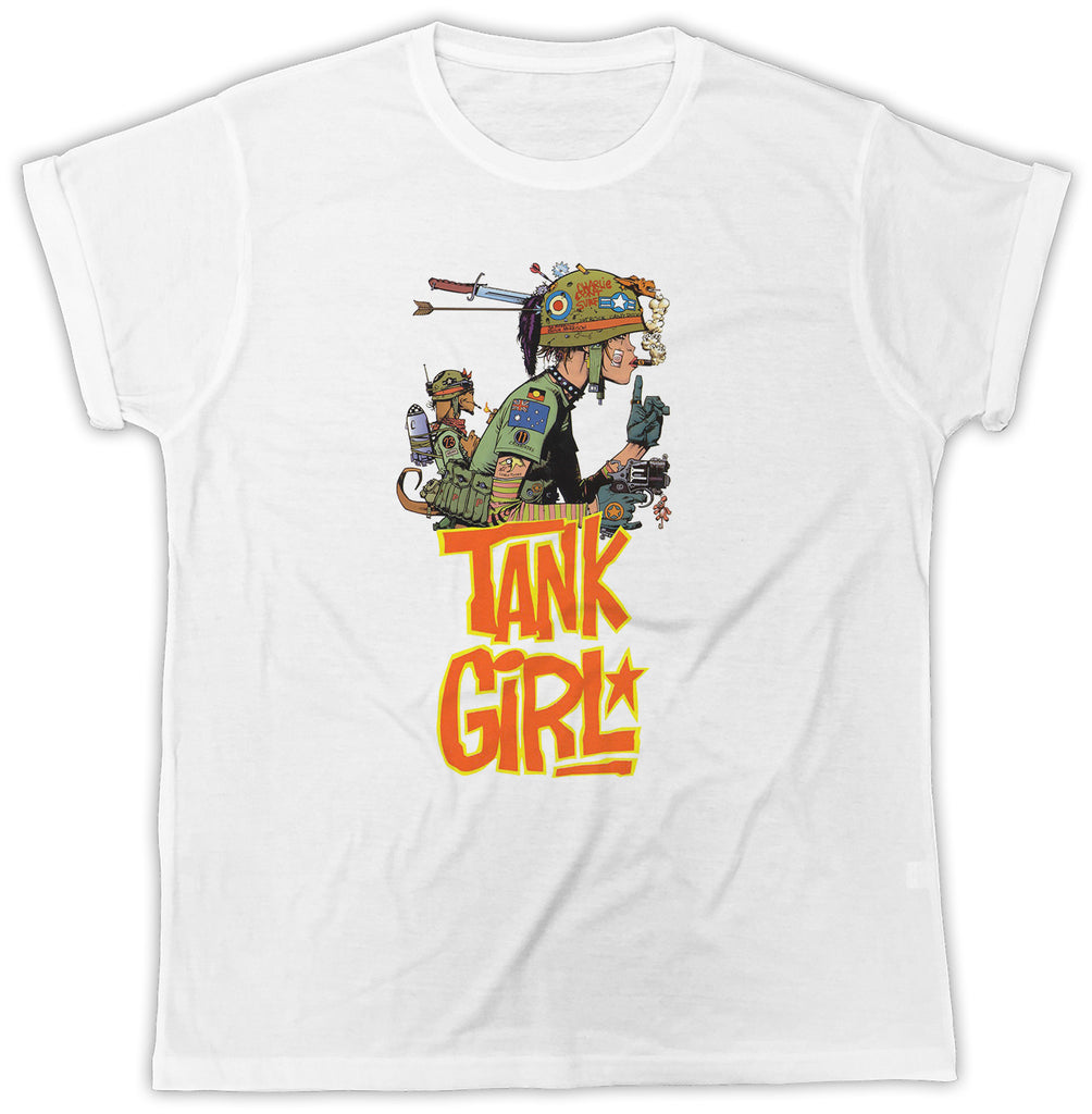 Banksy - Tank Girl - Everything 5 Pounds