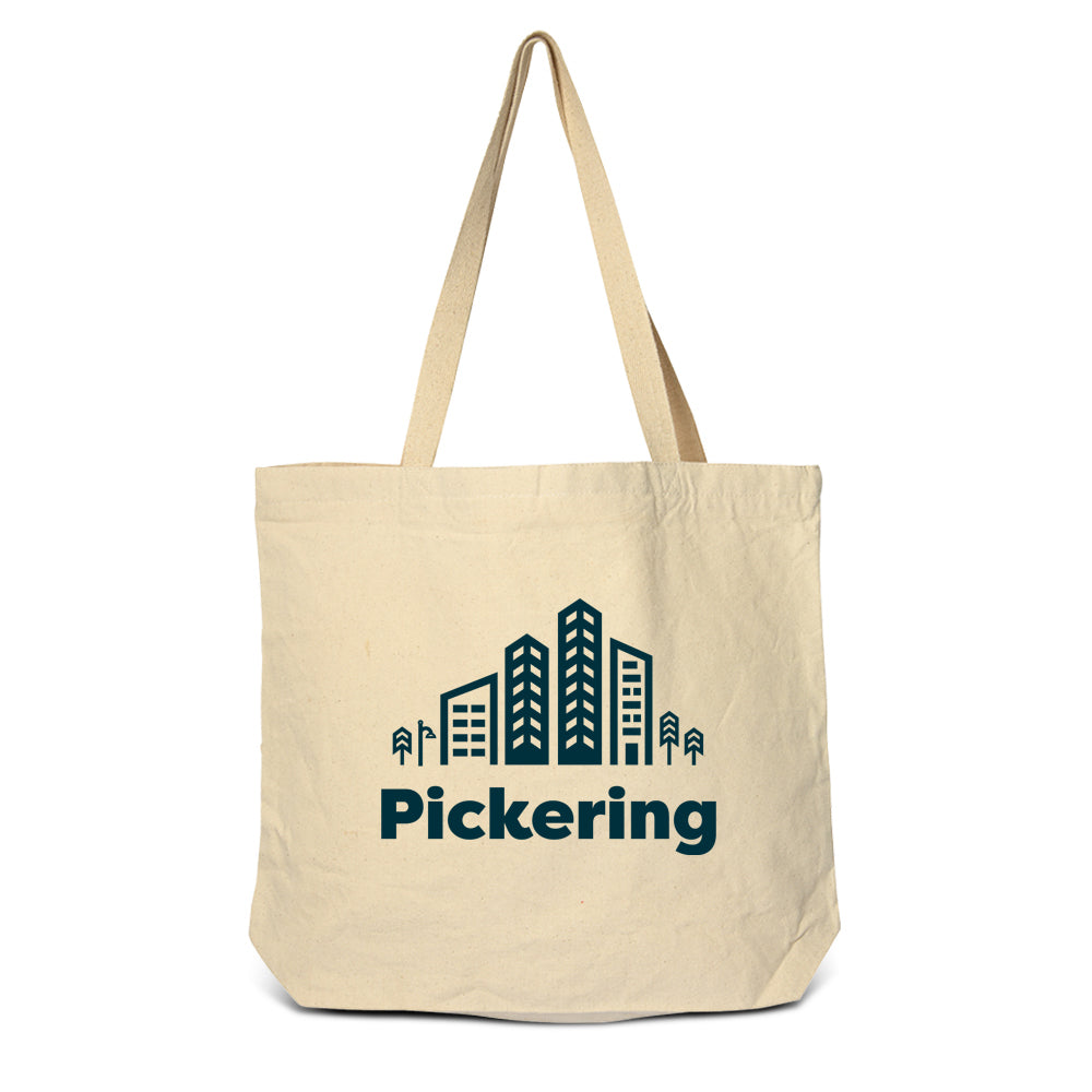 Pickering - City Zippered Tote Bag