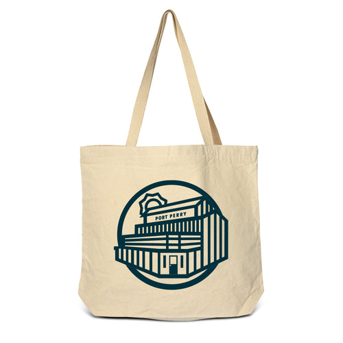 Port Perry - Old Mill Zippered Tote Bag