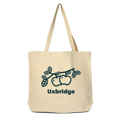 Uxbridge - Apples Zippered Tote Bag