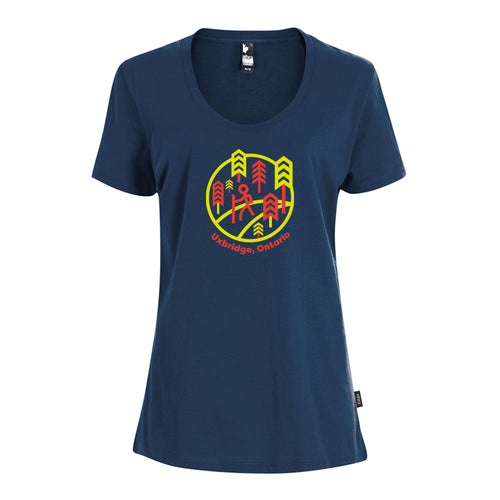 Uxbridge - Trails Ladies Crewneck T-Shirt