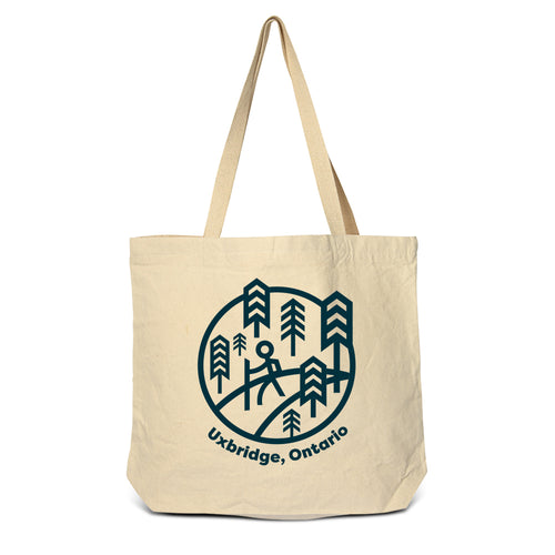 Uxbridge - Trails Zippered Tote Bag