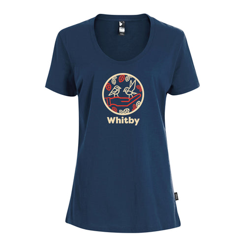 Whitby - Chickadees Ladies Crewneck T-Shirt