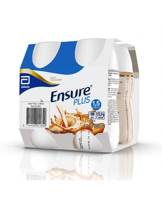 Abbott - Ensure Plus Advance Cioccolato 200ml x 4 pezzi