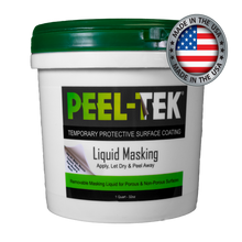 Load image into Gallery viewer, Peel-Tek® Liquid Masking & Peel-able Protective Surface Coating - Quart