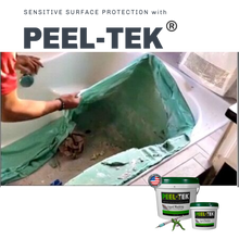 Load image into Gallery viewer, Peel-Tek Liquid Masking for bathtub protection