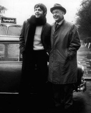 Paul McCartney and his father James