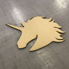 Load image into Gallery viewer, Unicorn craft blanks, 3mm mdf laser cut