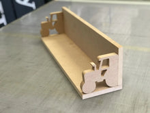 Load image into Gallery viewer, Tractor shelf, great for a nursey or kids room