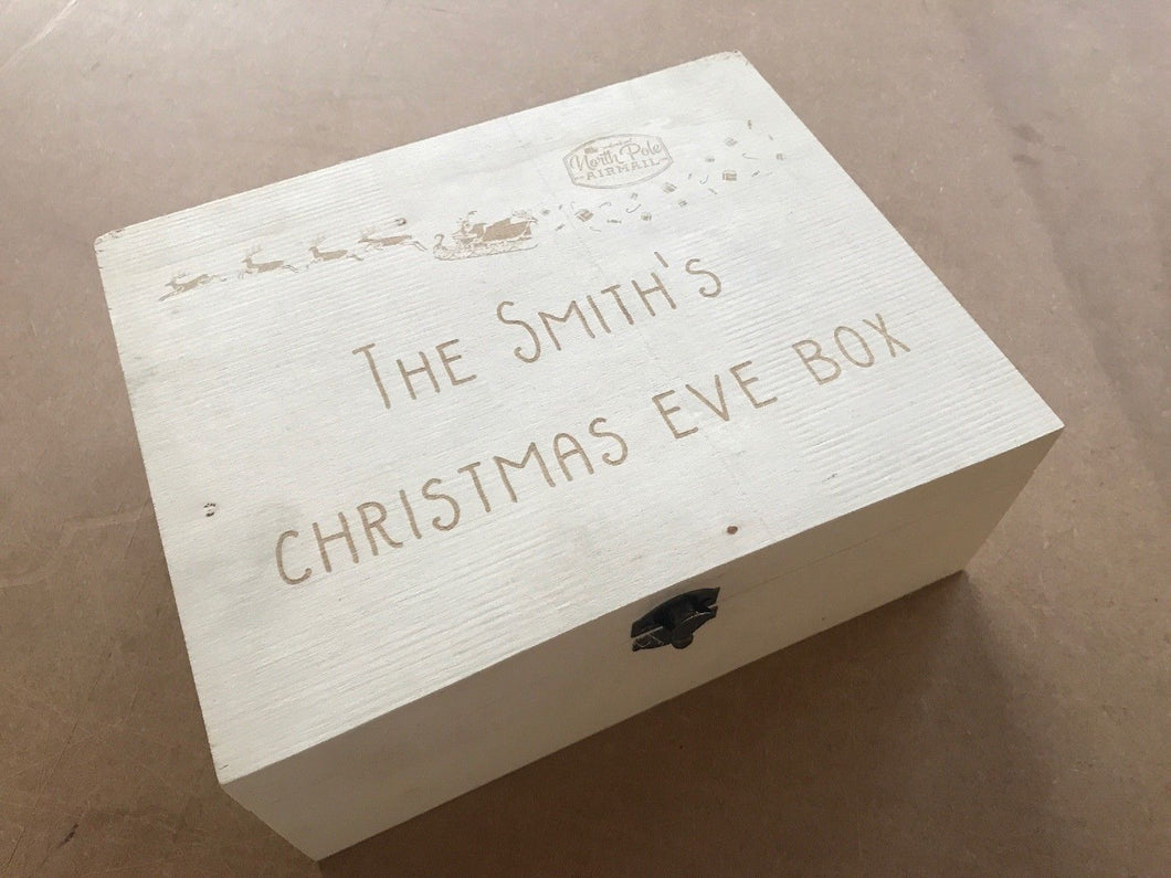 Christmas Eve Box - Personalised engraving