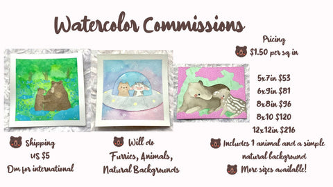 Commission Pricing and Info