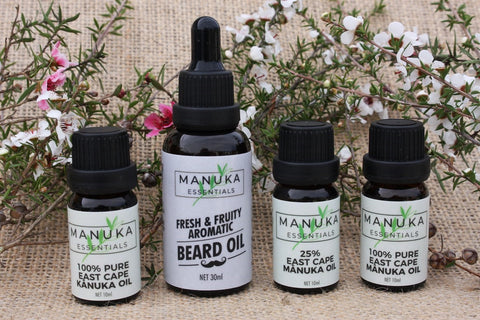 Manuka Essentials product range