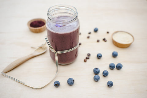 Blueberry and Maca Drink