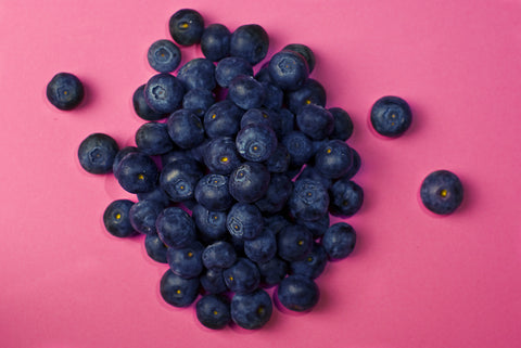Blueberries are full of antioxidants and vitamins