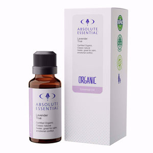 Absolute Essential Lavender True Essential Oil (Organic)