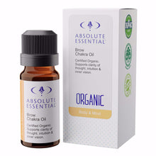 Absolute Essential Organic Brow Chakra Oil is a pure natural formulation that has been crafted to support the associated energies of intuition, perception, memory and fearlessness.