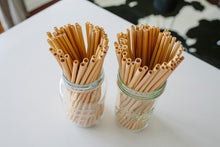 These Earthware reusable drinking straws are handmade from natural bamboo. A fully biodegradable and sustainable alternative to single use plastic straws!