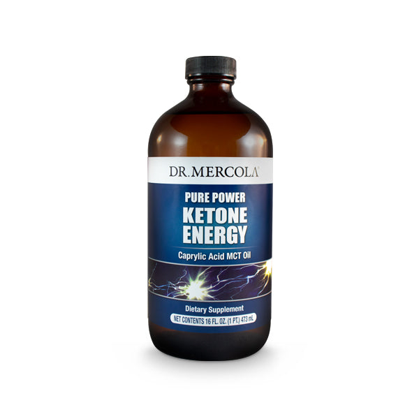 Dr Mercola Ketogenic MCT Oil - Mitomix Pure Power Ketone Energy - High in C8