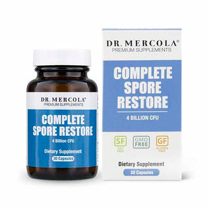 Dr Mercola Complete Spore Restore For Gut Health 30 Day