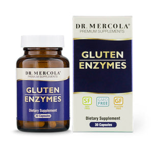 Dr Mercola's Gluten Enzymes help take away the guesswork from dining out and can help you enjoy your meal when you can't be sure if it's gluten free